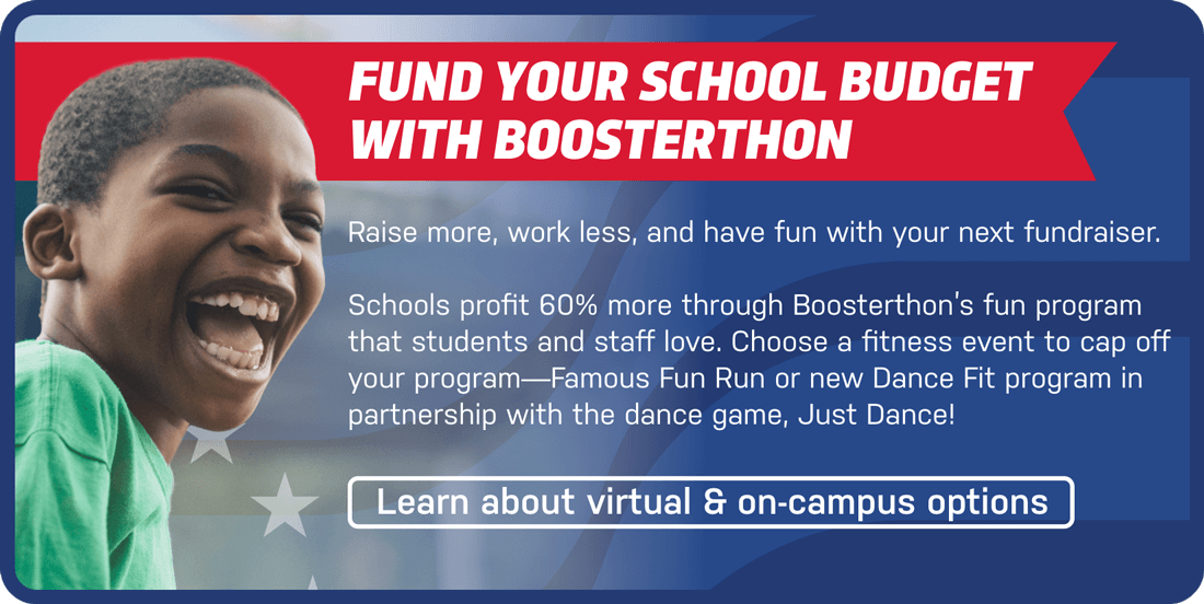 Fund Your School Budget With Boosterthon